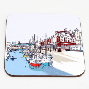 Bristol Harbourside Coaster by Rolfe & Wills | The Bristol Shop