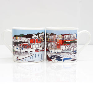 Bristol Marina Bone China Mug by Rolfe & Wills | The Bristol Shop