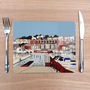 Bristol Marina Placemat by Rolfe & Wills | The Bristol Shop