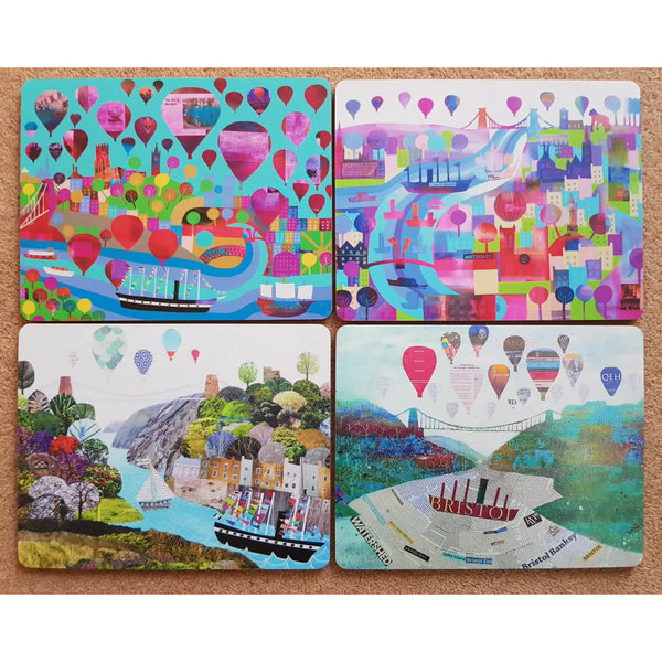 Bristol Placemats - Pack of 4 Placemats by Jenny Urquhart