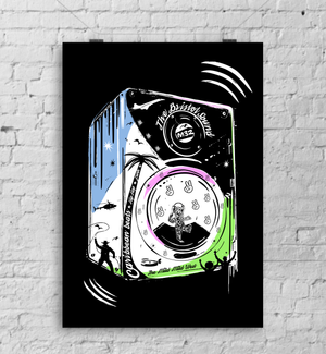 Bristol Sound - A3 Art Print by Lou Boyce | The Bristol Shop