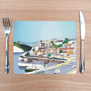 Bristol Views Placemat by Rolfe & Wills | The Bristol Shop