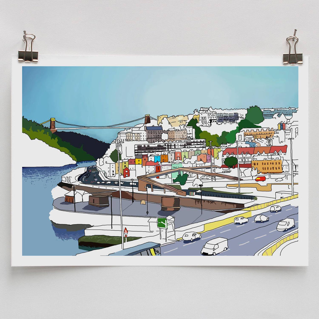 Bristol Views Digital Art Print by Rolfe & Wills | The Bristol Shop