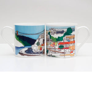 Bristol Views Bone China Mug by Rolfe & Wills | The Bristol Shop