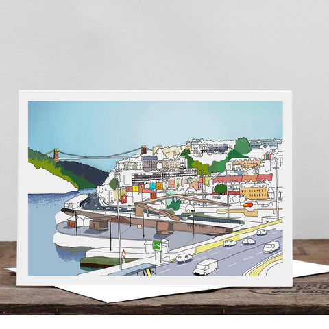 Bristol Views Greetings Card by Rolfe & Wills | The Bristol Shop