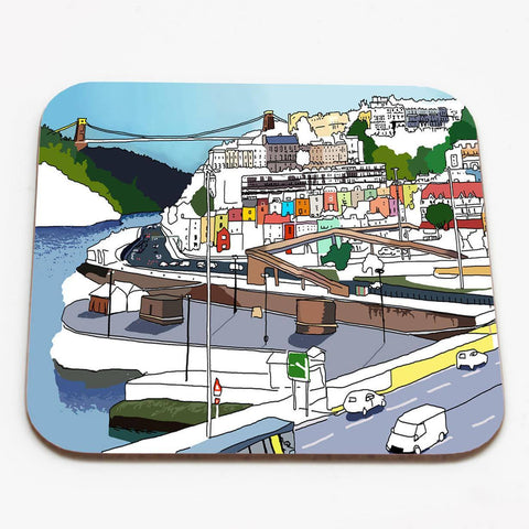 Bristol Views Coaster by Rolfe & Wills | The Bristol Shop