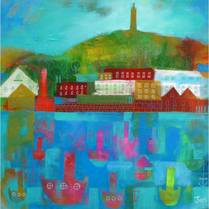 Cabot Tower - Giclée Print by Jenny Urquhart at The Bristol Shop