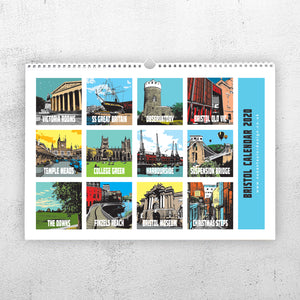 Bristol 2020 A4 Calendar by Susan Taylor | The Bristol Shop