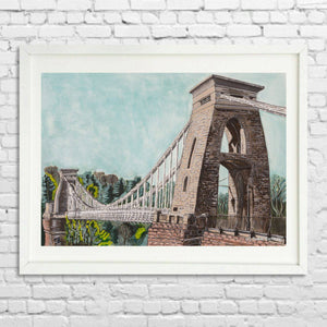 Clifton Suspension Bridge Limited Edition Giclée Print by Susie Ramsay | The Bristol Shop