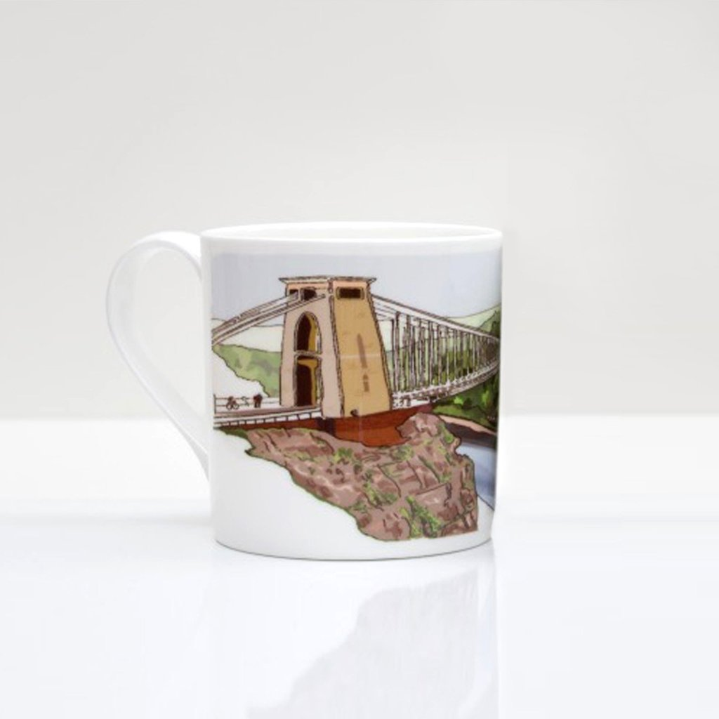 Clifton Suspension Bridge & The Matthew Bone China Mug by Rolfe & Wills | The Bristol Shop