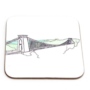 Clifton Suspension Bridge, Bristol Coaster by Rolfe & Wills | The Bristol Shop