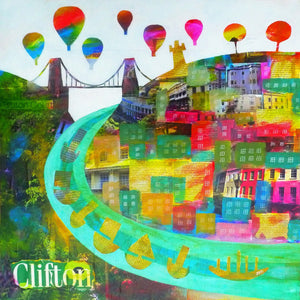 Clifton Colours - Giclée Print by Jenny Urquhart | The Bristol Shop