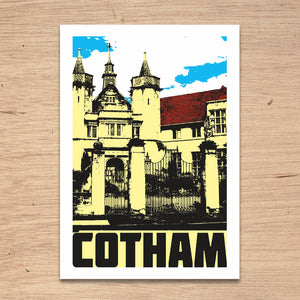 Cotham Bristol, A4 Print by Susan Taylor Art | The Bristol Shop