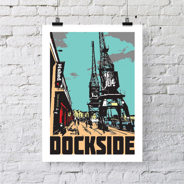 Dockside Bristol, A4 or A3 Print by Susan Taylor