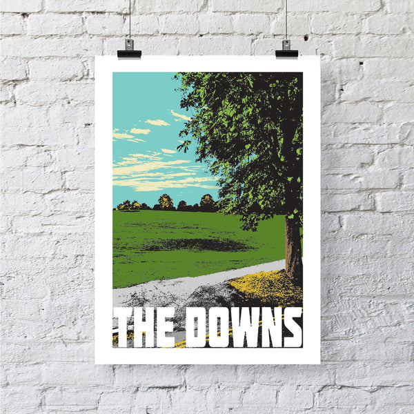 The Downs Bristol A4 or A3 Print by Susan Taylor | The Bristol Shop