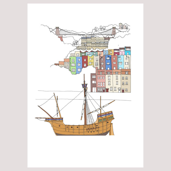 Bristol – The Matthew Art - Giclée Print by Emily Ketteringham at The Bristol Shop