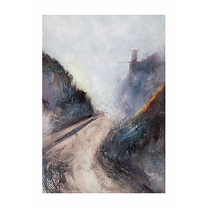 Early Mist at the Suspension Bridge - Giclée Print by Elaine Shaw | The Bristol Shop