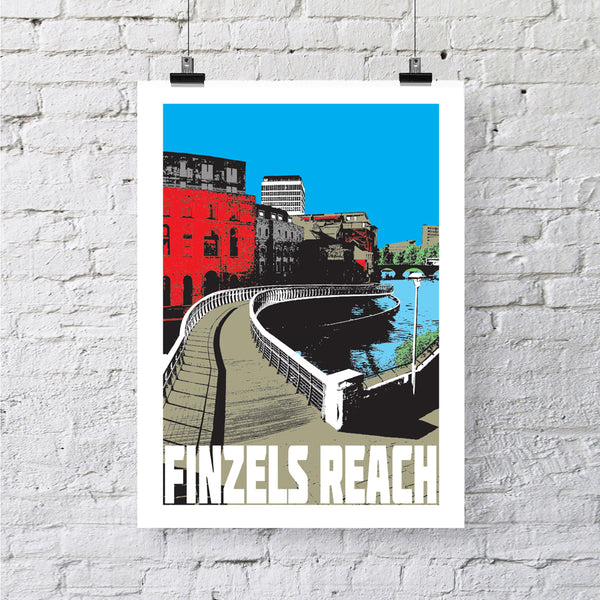 Castle Bridge at Finzels Reach Bristol A4 or A3 Print by Susan Taylor | The Bristol Shop