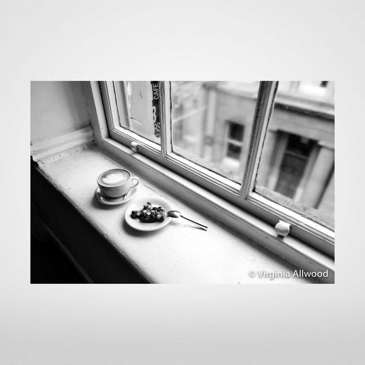 Fancy a Break? - B&W Photographic Print by Virginia Allwood at The Bristol Shop
