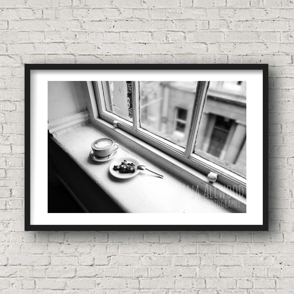 Fancy a Break? - B&W Photographic Print by Nina Allwood