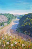 Flowers at the Sea Walls - Giclée Print by Jenny Urquhart | The Bristol Shop