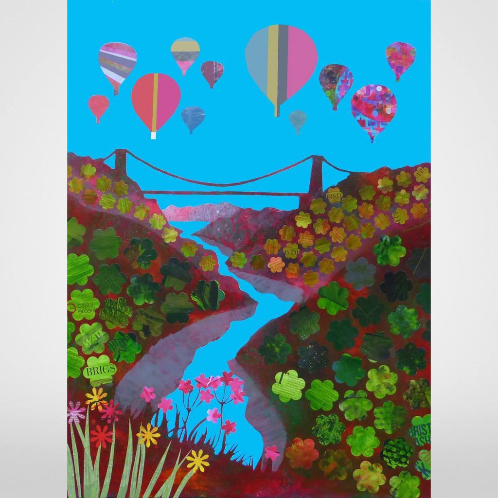 Gorgeous Gorge - Giclée Print by Jenny Urquhart at The Bristol Shop