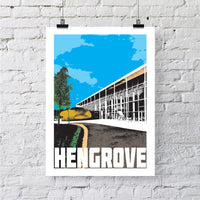 Hengrove Bristol A4 or A3 Print by Susan Taylor | The Bristol Shop