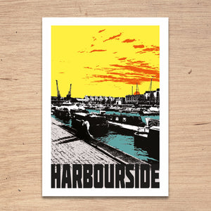 Harbourside Bristol, A4 Print by Susan Taylor Art | The Bristol Shop