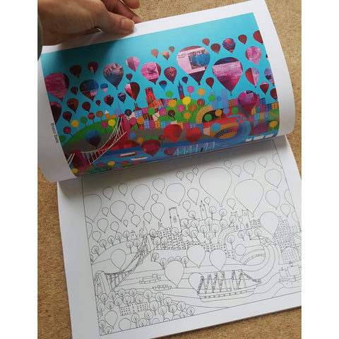 Jenny Urquhart's Bristol Colouring Book