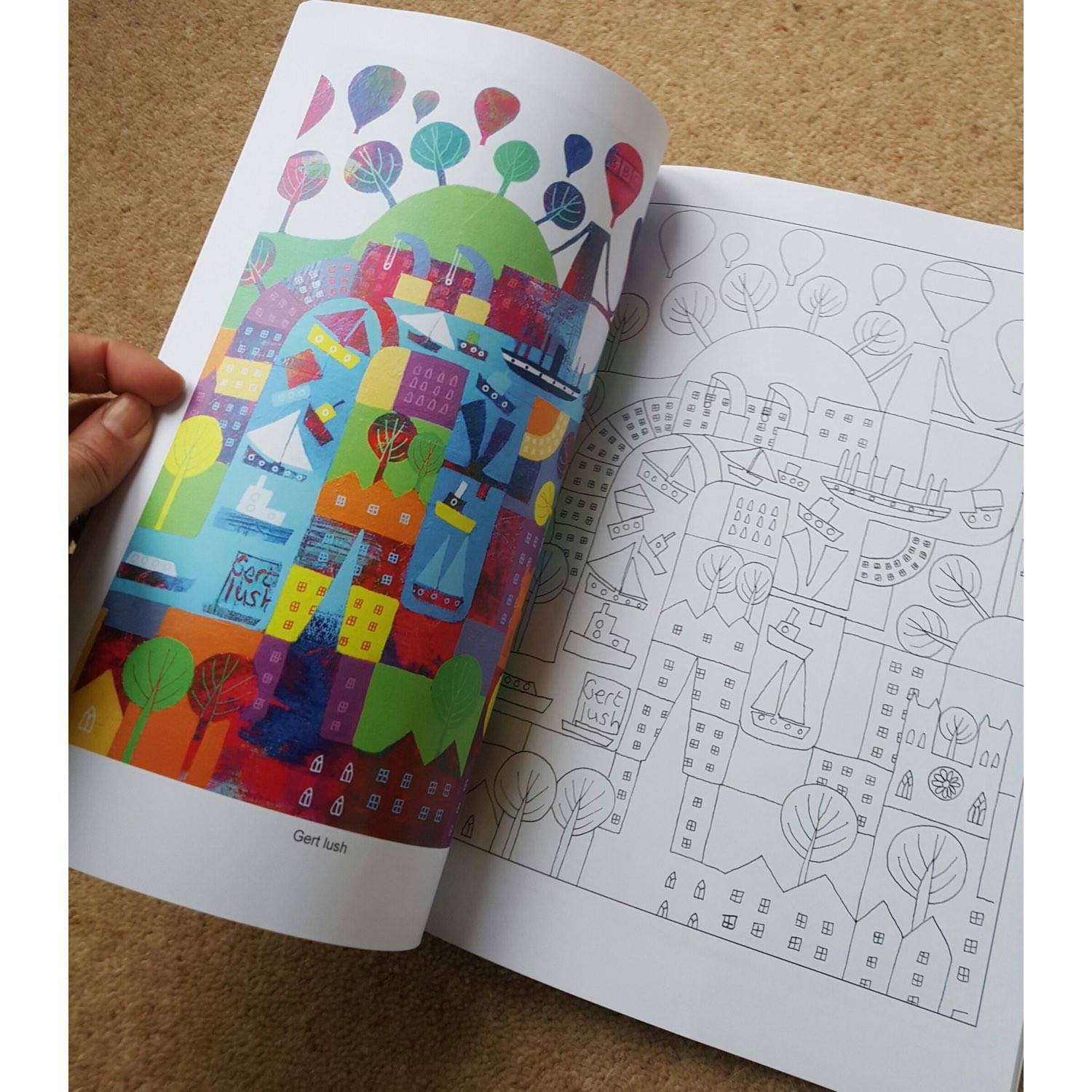 Jenny Urquhart's Bristol Colouring Book | The Bristol Shop