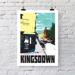 Kingsdown Bristol A4 or A3 Print by Susan Taylor | The Bristol Shop