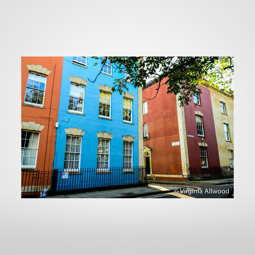Kingsdown Colours  - Photographic Print by Virginia Allowed at The Bristol Shop