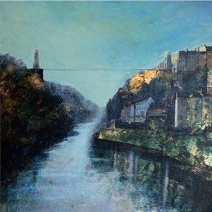 Last Sun on the Suspension Bridge - Giclée Print by Elaine Shaw | The Bristol Shop
