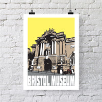 Bristol Museum A4 or A3 Print by Susan Taylor | The Bristol Shop