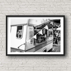 Market Treats - B&W Photographic Print by Nina Allwood | The Bristol Shop