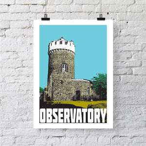 Clifton Observatory Bristol A4 or A3 Print by Susan Taylor | The Bristol Shop