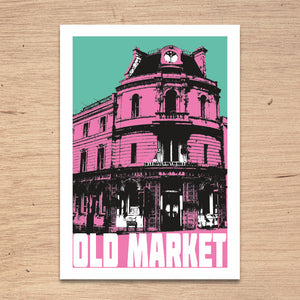 Old Market Bristol, A4 Print by Susan Taylor Art | The Bristol Shop