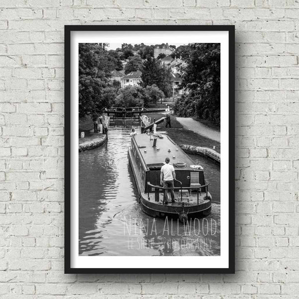 Open The Way - B&W Photographic Print by Nina Allwood | The Bristol Shop