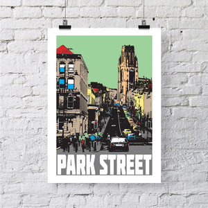 Park Street Bristol A4 or A3 Print by Susan Taylor