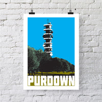 Purdown Bristol A4 or A3 Print by Susan Taylor | The Bristol Shop
