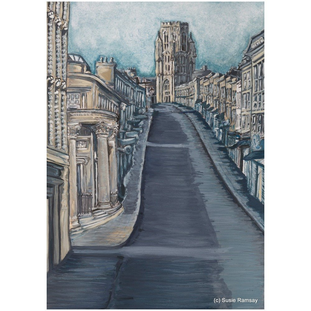 Park Street Greetings Card by Susie Ramsay | The Bristol Shop