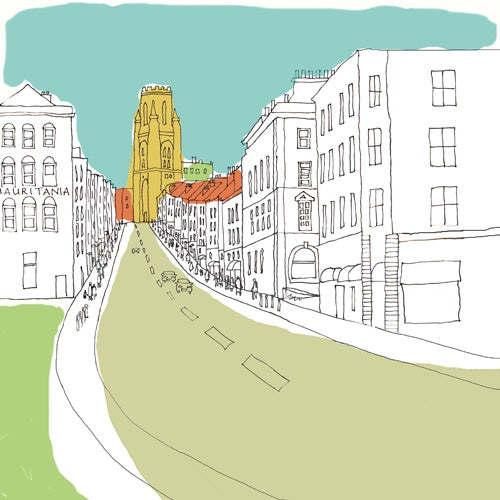'Park Street' Giclee Print by Jenny Urquhart at The Bristol Shop
