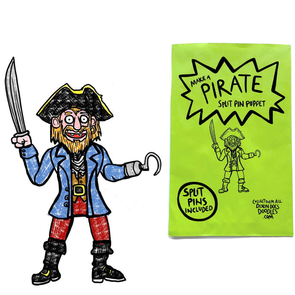 Pirate Puppet Making Kit