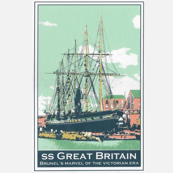 SS Great Britain Screen Print by Abi Murray | The Bristol Shop