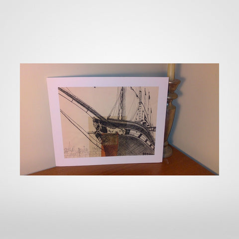 Isambard Kingdom Brunel's SS Great Britain Print by Lisa Malyon