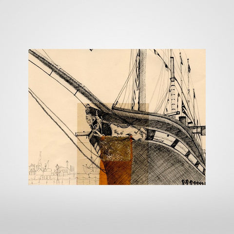 Isambard Kingdom Brunel's SS Great Britain Print by Lisa Malyon at The Bristol Shop