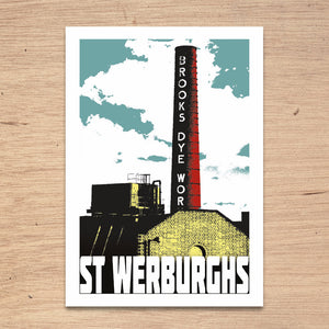St Werburghs Bristol, A4 Print by Susan Taylor Art | The Bristol Shop