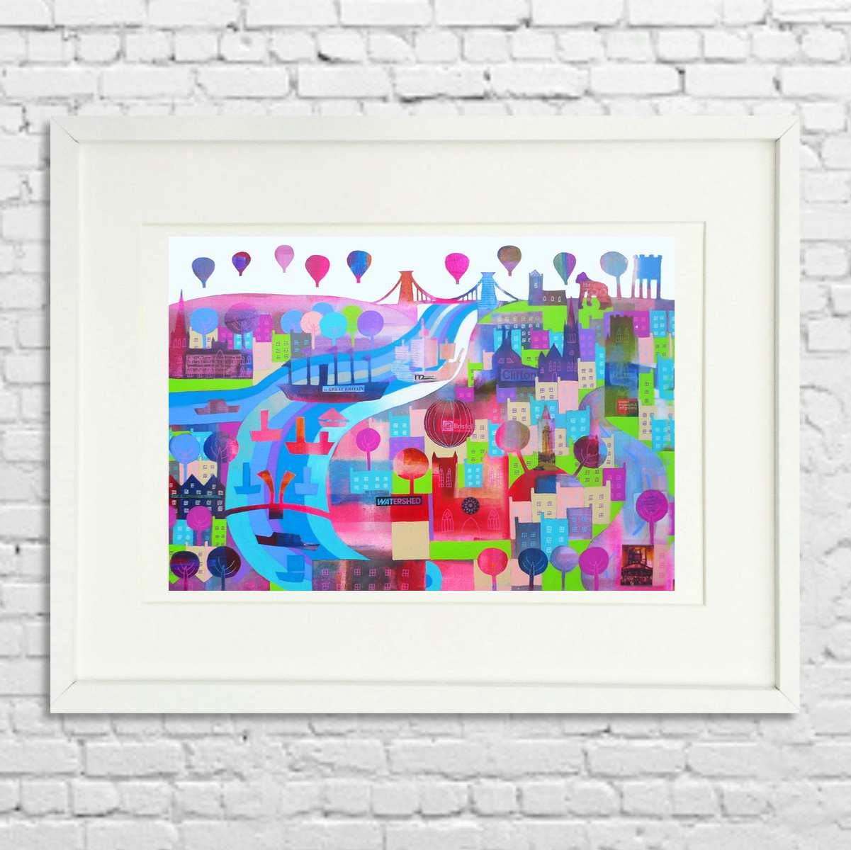 Shipshape and Bristol Fashion - Giclée Print by Jenny Urquhart | The Bristol Shop