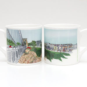 Sion Hill Bone China Mug by Rolfe & Wills