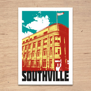Southville Bristol, A4 Print by Susan Taylor Art | The Bristol Shop